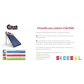 Chauffe-eau solaire CALPAK